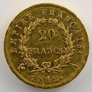 1812 A  (Paris)    TTB/TTB+