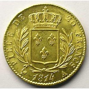 1814 A  (Paris)    SUP/FDC