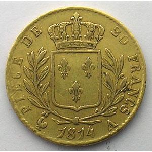 1814 A  (Paris)    TTB
