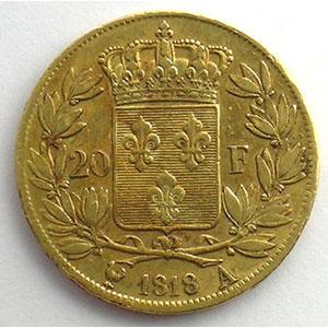 1818 A  (Paris)    TTB