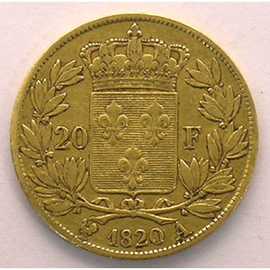 1820 A  (Paris)    TB+/TTB