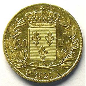 1820 A  (Paris)    TTB