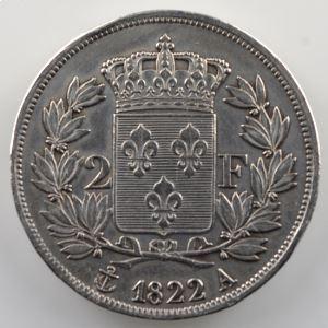 1822 A  (Paris)    TB+/TTB