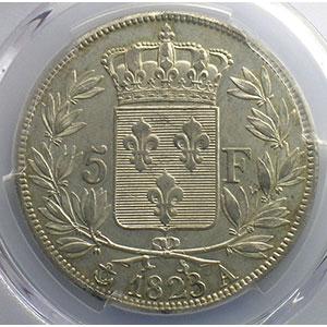 1823 A  (Paris)    PCGS-AU55    TTB+/SUP