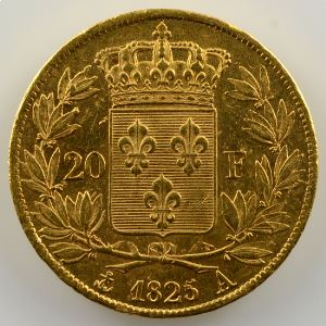 1825 A  (Paris)    TTB+/SUP