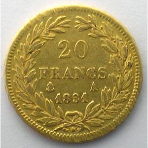 1831 A  (Paris)    TTB/TTB+