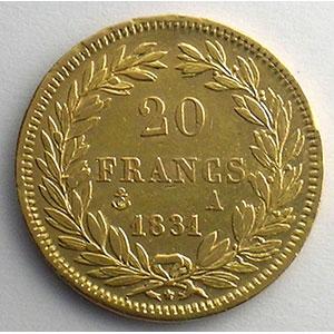 1831 A  (Paris)    TTB+