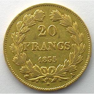 1835 A  (Paris)    TB+/TTB