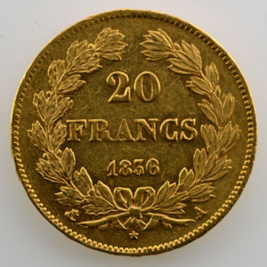 1836 A  (Paris)    TTB+