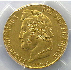 1838 W  (Lille)    PCGS-AU55    TTB+/SUP