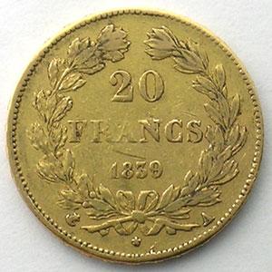 1839 A  (Paris)    TB+/TTB