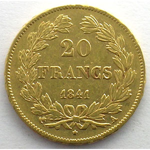 1841 A  (Paris)    TTB/TTB+