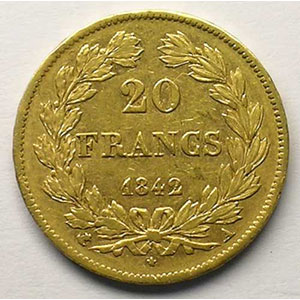1842 A  (Paris)    TTB