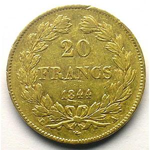 1844 A  (Paris)    TTB
