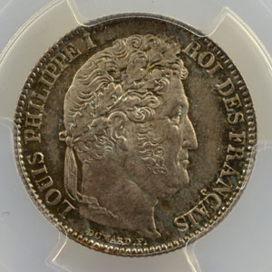 1847 A  (Paris)    PCGS-MS67    FDC exceptionnel