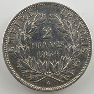 1854 A  (Paris)    TB