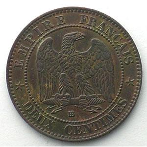 1855 BB chien  (Strabourg)    TTB+
