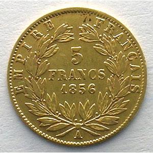 1856 A  (Paris)    TB+/TTB