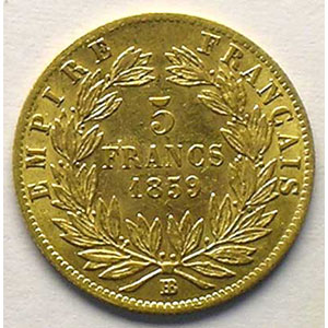 1859 BB  (Strasbourg)    TTB