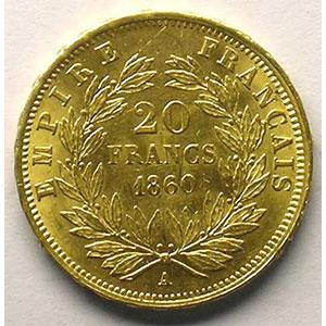 1860 A  (Paris)    TTB+/SUP