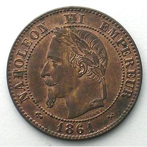 1861 K  (Bordeaux)    SUP/FDC