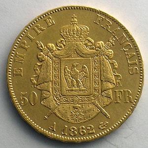 1862 A  6 sur 5  (Paris)    TTB+/SUP