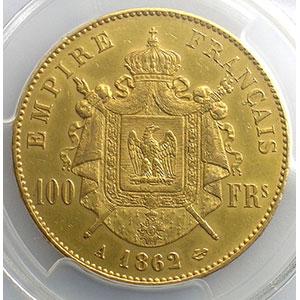 1862 A  (Paris)    PCGS-AU55    TTB+/SUP