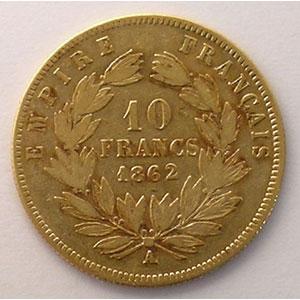 1862 A  (Paris)    TB+