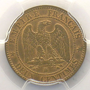 1862 grand BB  (Strasbourg)    PCGS-MS63RB    SUP/FDC