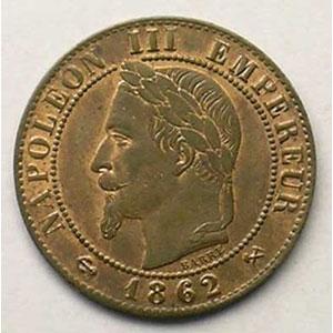 1862 K  (Bordeaux)    SUP/FDC