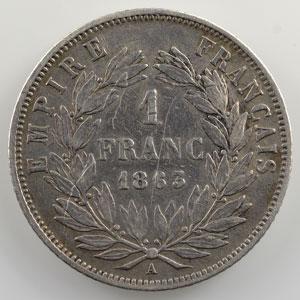 1863 A  (Paris)    TB/TB+