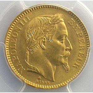 1864 A  (Paris)    PCGS-MS64    pr.FDC
