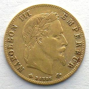 1864 A  (Paris)    TB+/TTB