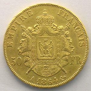 1864 A  (Paris)    TTB+/SUP
