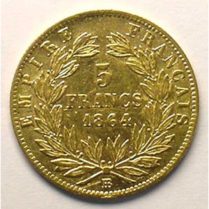 1864 BB  (Strasbourg)    TTB
