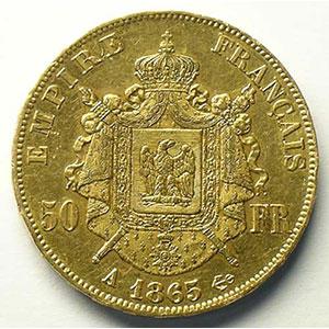 1865 A  (Paris)    TB+/TTB