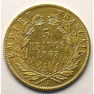 1865 A  (Paris)    TTB