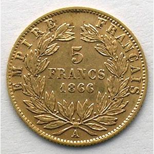 1866 A  (Paris)    TB+/TTB