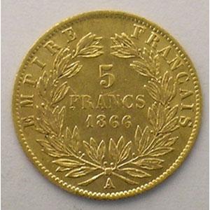 1866 A  (Paris)    TTB/TTB+
