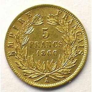 1866 A  (Paris)    TTB