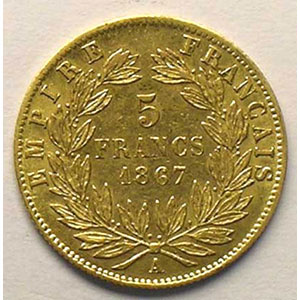 1867 A  (Paris)    TTB