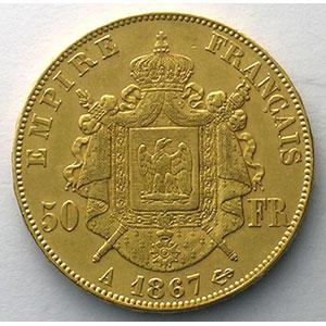 1867 A  (Paris)    TTB+/SUP