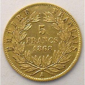 1868 A  (Paris)    TB+/TTB