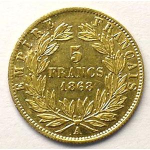 1868 A  (Paris)    TTB/TTB+