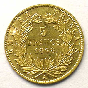 1868 A  (Paris)    TTB+