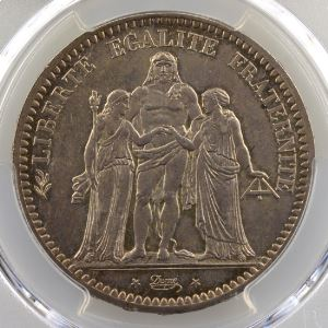 1872 A  (Paris)    PCGS-MS63    SUP/FDC