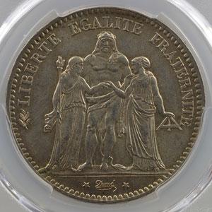 1877 A  (Paris)    PCGS-MS64    pr.FDC