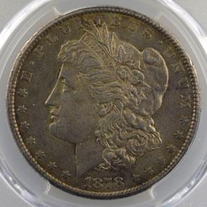 1878 CC  (Carson City)    PCGS-AU55    TTB+/SUP
