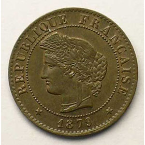 1879 A  (Paris)    SUP/FDC