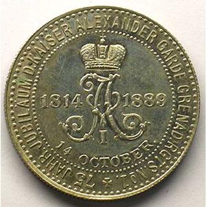 1889   argent   28mm    SUP